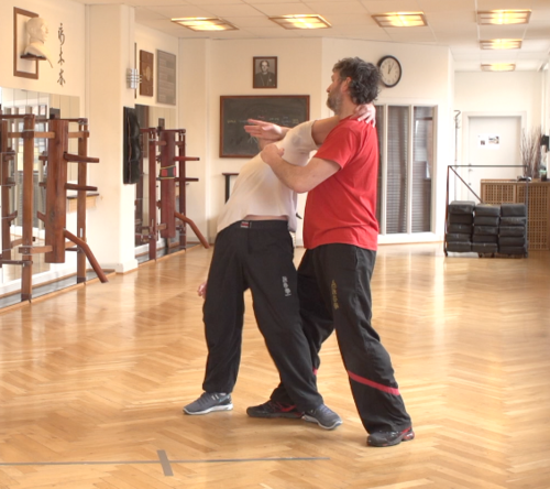 Neck Lock Defense - Wing Tsun