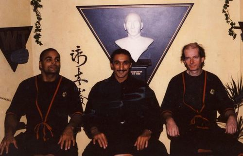 Student of Grand Master Keith Kernspecht and founder of EBMAS - Wing Tzun